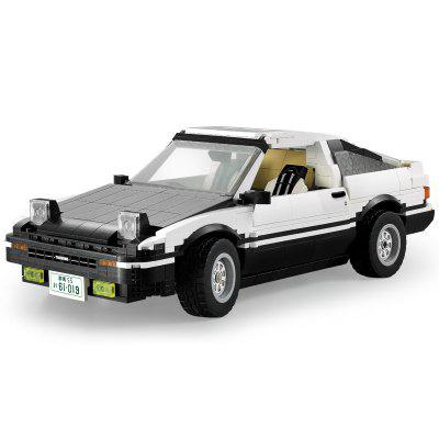 CaDA C61019 1234PCS AE86 Drift Racing Building Blocks Learning Educational Toy Gifts