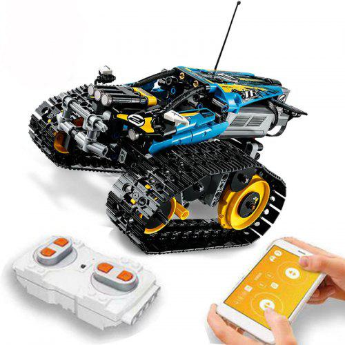 W-star Childrens educational remote control car Table tennis robot Alloy drop resistance Wireless remote control car Intelligent mechanical educational toys for boys
