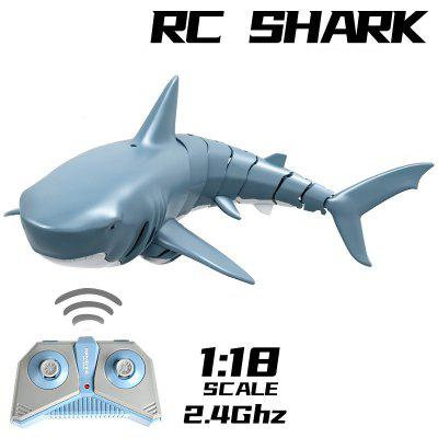 Remote Control Shark 2.4G Electric Simulation RC Shark Fish Summer Water Children Toys