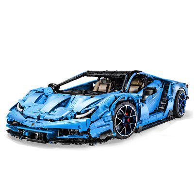 CaDA C61041 3842PCS Technic Building Blocks AWD Super Racing Car Model Bricks Toys for Children Boys