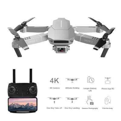 F98 2.4GHz WiFi FPV Foldable RC Drone Quadcopter with 4K HD Camera One-Key Return RC Helicopter Toy