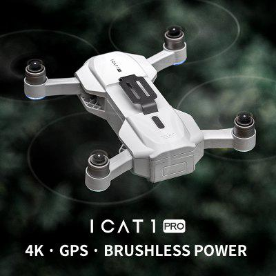 ICAT1 PRO Foldable GPS WIFI FPV RC Drone Quadcopter with 4K HD Camera Optical Flow Brushless Drone