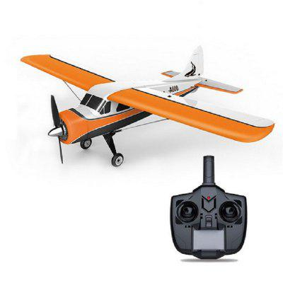 WLtoys XK DHC-2 A600 RC Plane Drone RTF 2.4G Brushless Motor 3D/6G Remote Control Airplane Glider Drone Compatible FUTABA S-FHSS RC Airplane Toys