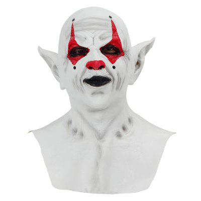 Halloween Mask Grimace Headgear Clown Latex Party Horror Spoof Face  Cosplay Costume Props
