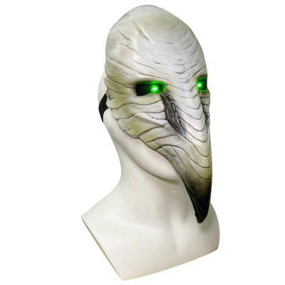 Halloween Masks Plague Doctor Steampunk Bird Mask Cosplay LED Lights Scary Latex Masks Halloween Masquerade Party Cosplay Props Toys for Kids Adult behemoth turtleman mask bird man animal latex cosplay costume props masks halloween halloween horror mask cosplay