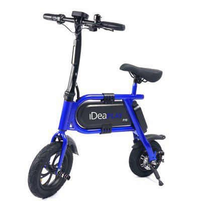IDEAPLAY P10 12 inches Folding Electric Bicycle E-Bike 350W 36V 4.0Ah Lithium Battery Image