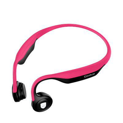 IDEAPLAY ES368 Bone Conduction Headset Open-Ear Wireless Headphone Bluetooth 5.0 Built in Microphone