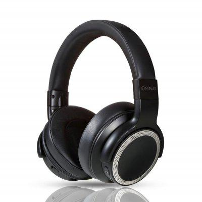IDEAPLAY V206 Active Noise Cancelling Wireless Headphone Over ear HiFi Bluetooth Headset with Apt-X