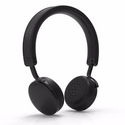 V202 Wireless Stereo Sound Bluetooth Headpones with apt-X Built-in Microphone for iOS Android Phone