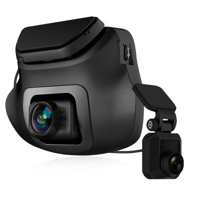 Z-EDGE S3 Car DVR 2.4 inch LCD Dash Cam 1080P Front and Rear Dual Cameras with G-sensor Image