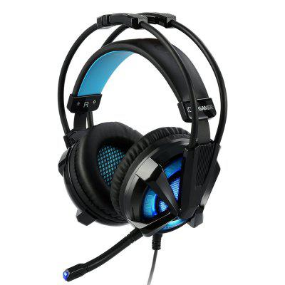 IDEA GAMER S409 Virtual 7.1 Surround Sound USB Gaming Headphone Noise Cancelling Gamer Headset