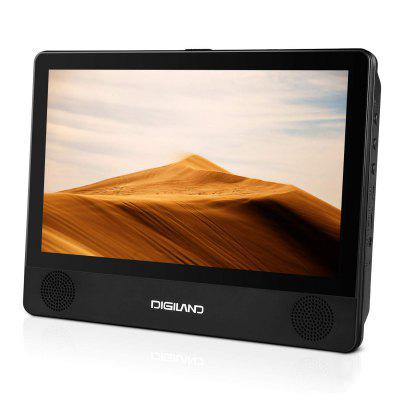 DigiLand DL9003 Portable DVD Player Android 8.1 WiFi Tablet Combo 9 In Touchscreen Quad Core 16GB