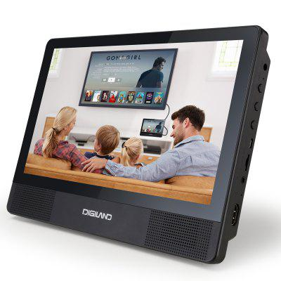 DigiLand DL1001A Portable DVD Player Android WiFi Tablet Combo 10.1 In Touchscreen QuadCore 16GB