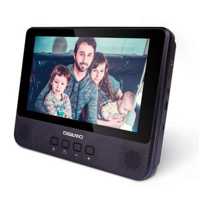 DigiLand DL9002 Portable DVD Player Android WiFi Tablet Combo 9 in Touchscreen 1.3GHz Quad Core 16GB