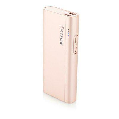 IDEAPLAY B100 10000mAh 2 USB External Battery Power Bank for Phones and Tablets