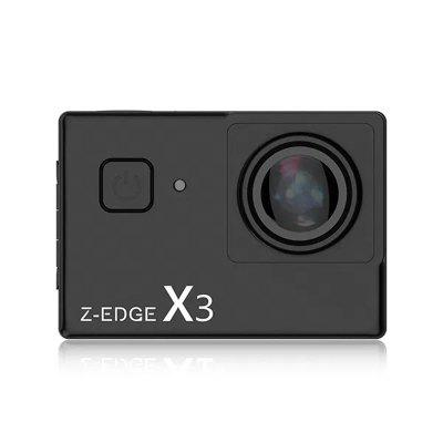 Z-Edge X3 4K Touch Screen WiFi Action Camera Ultra HD with EIS 30m Waterproof 5X Zoom Image