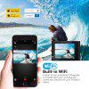 Z-Edge X1 4K WiFi Action Camera Ultra HD with EIS 30m Waterproof Camera Remote Control 5X Zoom
