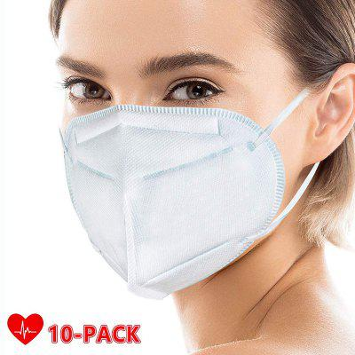 10 pcs KN95 Face Mask Anti-Virus Dust Roof Mouth Respirator Safety Protection N95 PM2.5