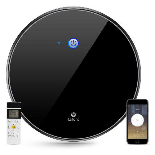 Lefant M520 2200Pa Strong Suction Robot Vacuum Cleaner Works with Alexa and Google