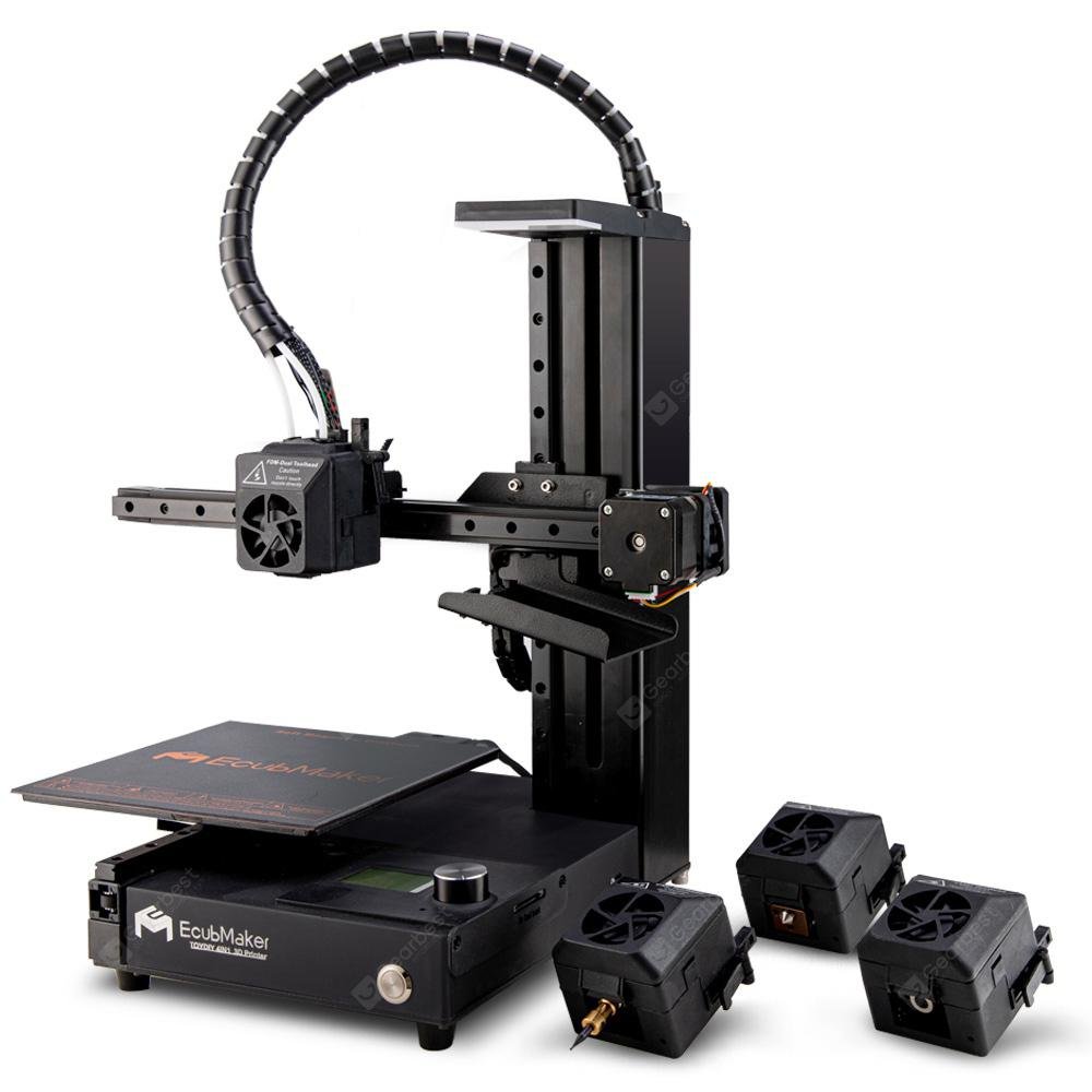 EcubMaker TOYDIY 4-in-1 3D Printer FDM Laser CNC with Auto Levelling Heatable Dual PLA all in one