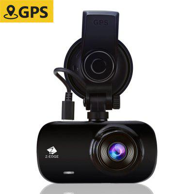 Z-EDGE Z3G Car DVR 2.7 inch Screen 1440P HD Dashboard Camera 150 degree Wide Angle Image