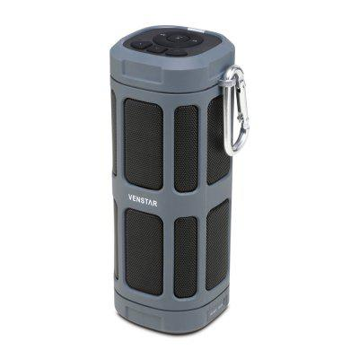 VENSTAR S400 Portable Wireless Bluetooth Speaker with FM Radio and TF Card Slot 6000mAh Battery