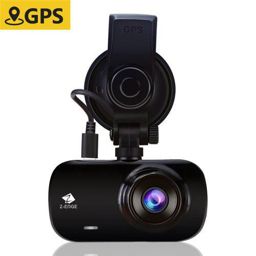 Z-EDGE Z3G Car DVR 2.7 inch Screen 1440P HD Dashboard Camera 150 degree Wide Angle