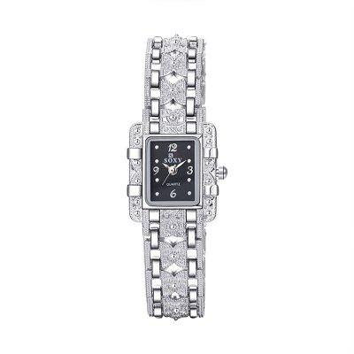 Hot Sale Simple Transparent Ladies Watch Creative Hollow CoupleWatch Strap Somens Watch