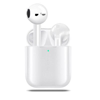 I1000 tws wireless stereo headphone earbuds touch earphone bluetooth 5.0 White for  i1000