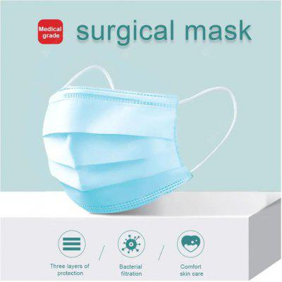100PCS Anti Virus Profession Medical Mask Surgical Disposable  Mouth Soft Breathable Face Mask