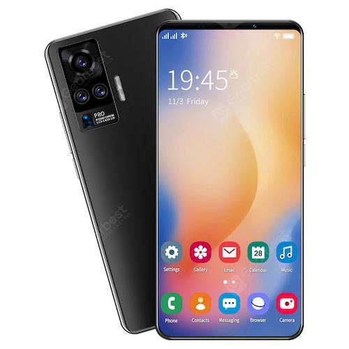 X50 Plus Smartphone MT6763 Octa Core 5.8 inch 4GB RAM 64GB ROM Android 10.0 8MP+13MP Cameras 4800mAh Battery Face ID Fingerprint Recognition