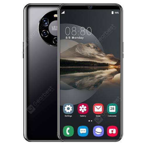 MATE50 PRO Smartphone MTK6580 6.3 inch 4GB RAM 64GB ROM Android 8.0 8MP+21MP Cameras 4800mAh Battery