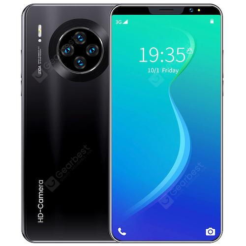 Mate33 Pro Smartphone MTK6763 6.1 Inch 2GB RAM 16GB ROM Android 9.1 8MP+16MP Cameras 3800mah Battery Face ID FingerPrint Recognition