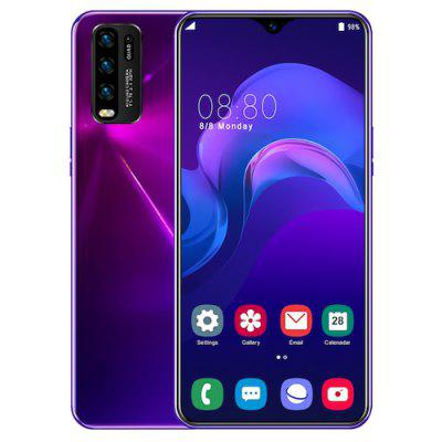 Y50 Pro 3G Smartphone MTK6580P 6.8 Inch 2GB RAM+16GB ROM Android 10.0 5MP+13MP Cameras 4800mAh Battery
