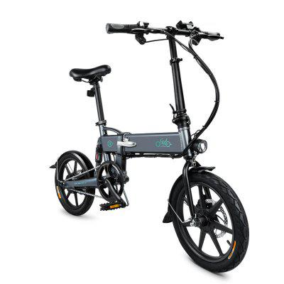 Fiido D2 Electric Bicycle Variable Speed Bicycle 250W Adult Teenager Foldable Electric Bicycle Image