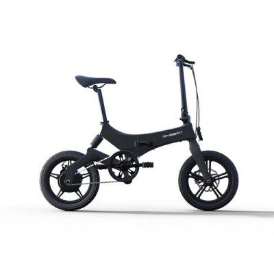 ONEBOT S6 16 Inch Foldable E-Bike 36V 6.4Ah 250W 25KM/h Electric Bikes Adjustable Lightweight Magnesium Alloy Frame E-Bike Image