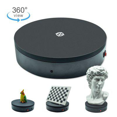 360 Degree Electric Rotating Display Turntable with 5kg Load for 3D Scanning Object Displaying