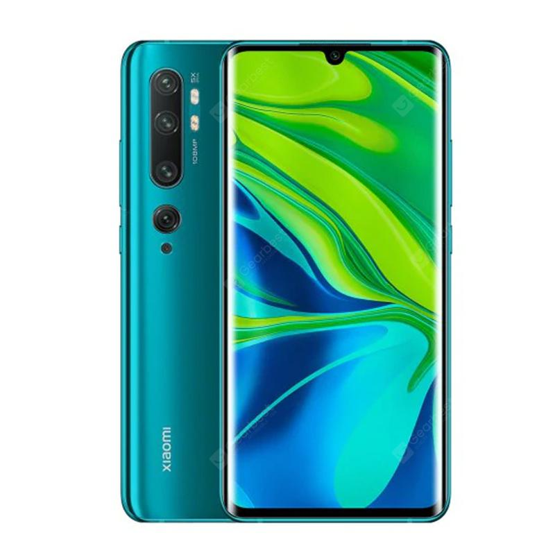 Xiaomi Mi Note 10 Pro 108MP Penta Camera Mobile Phone Global Version Smartphone
