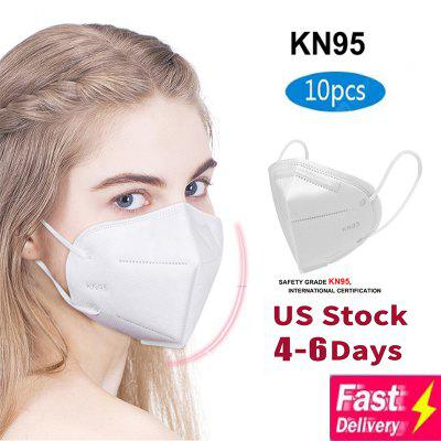 Effectively Block Dust  Masks KN95 Filtration Splash PM2.5 Comfortable With CE Certification