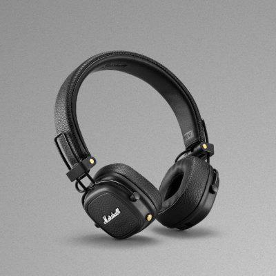 Фото - Marshall Major 3 Bluetooth Headphones 30+ hours of Playtime  TWS Headset portable foldsble Wireless Earphones kz zst x earphones circle iron headphones inflator hifi headset tape microphone call game headphones