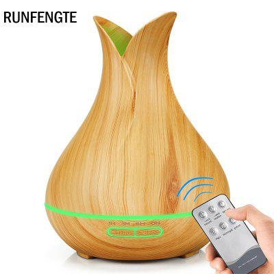RUNFENGTE Remote Control Vase Aroma Diffuser Essential Oil Air Pupifier Ultrasonic Air Humidifier