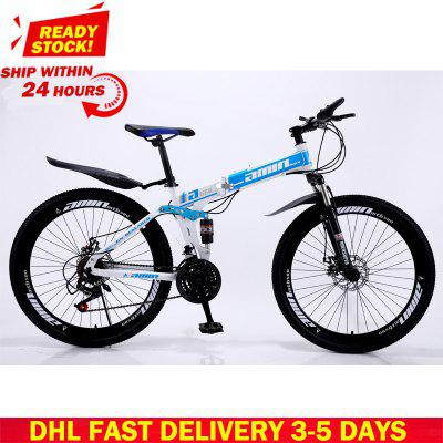 DHL Fast Delivery Bicycle 30 Variable Speed Mountain Bike Tire Road Bike Frame size 26 inch Product Unisex Resistance Image