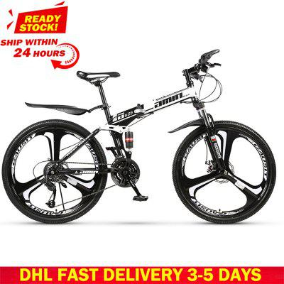 DHL Fast Delivery Bicycle 30 Variable Speed Mountain Bike Tire Road Frame size 26 inch Product Unisex Resistance