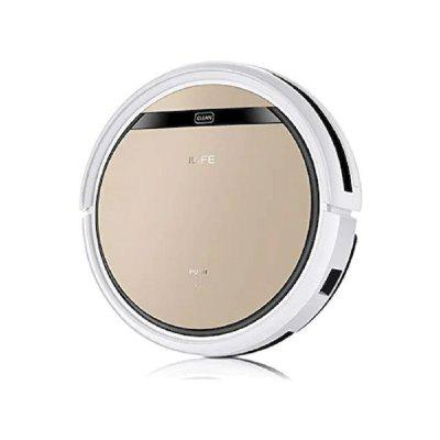 ILIFE V5s Pro Robot Vacuum Cleaner Sweep Wet Mop Pet Hair and Hard Floor Automatic Recharge Powerful Suction Ultra Thin Disinfection Home Appliances