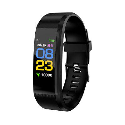 115Plus Sport Smart Bracelet Fitness Band Heart Rate Blood Pressure Tracker Smart Band Wristband for Men Women Kids Android IOS Phone