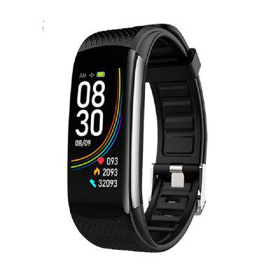 C6T Smart Bracelet Watches Body Temperature Wristband IP67 Waterproof Sleep Monitor Fitness Health Tracker Bluetooths Smartband