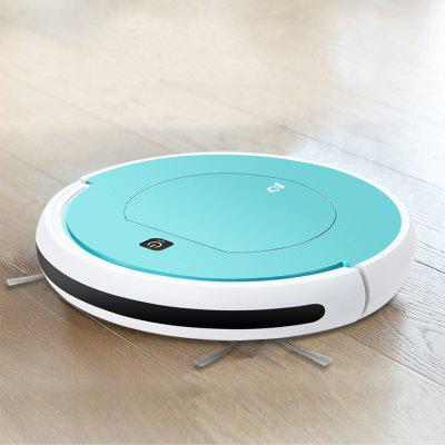 PHOREAL FR-601 Sweeping Mopping Smart Robot Vacuum Cleaner for Home 1000 PA Suction 2 in 1 Remote Control Fully Automatic Robot Cleaner Image