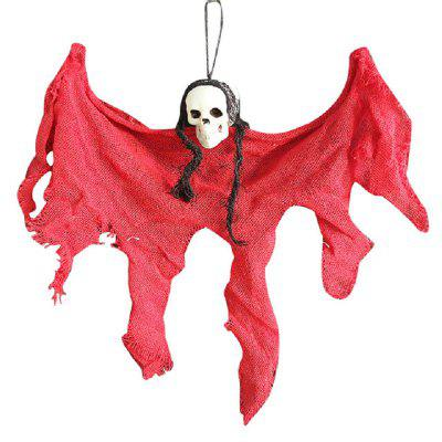Halloween Decorations Horror Creepy Skeleton Hanging Taro Little Ghost 40  Home Door Bar Decor Haunted Scarry Props