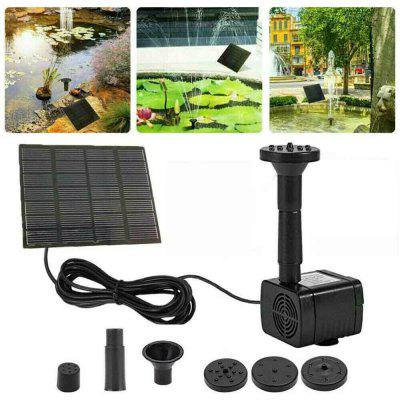 Solar Water Pump DC Submersible For Outdoor Garden Fountain Fish Tank Pond Brushless
