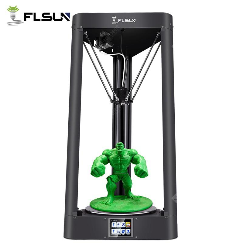 Flsun QQ S Delta Kossel Auto-Level Upgraded Resume Pre-assembly 3D Printer - 334.59€